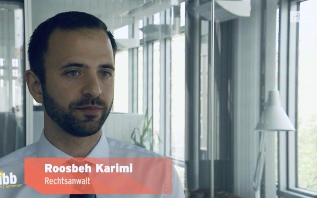 95% Ägypten-Stornogebühr – Kann das sein? RA Karimi im RBB und auf Welt