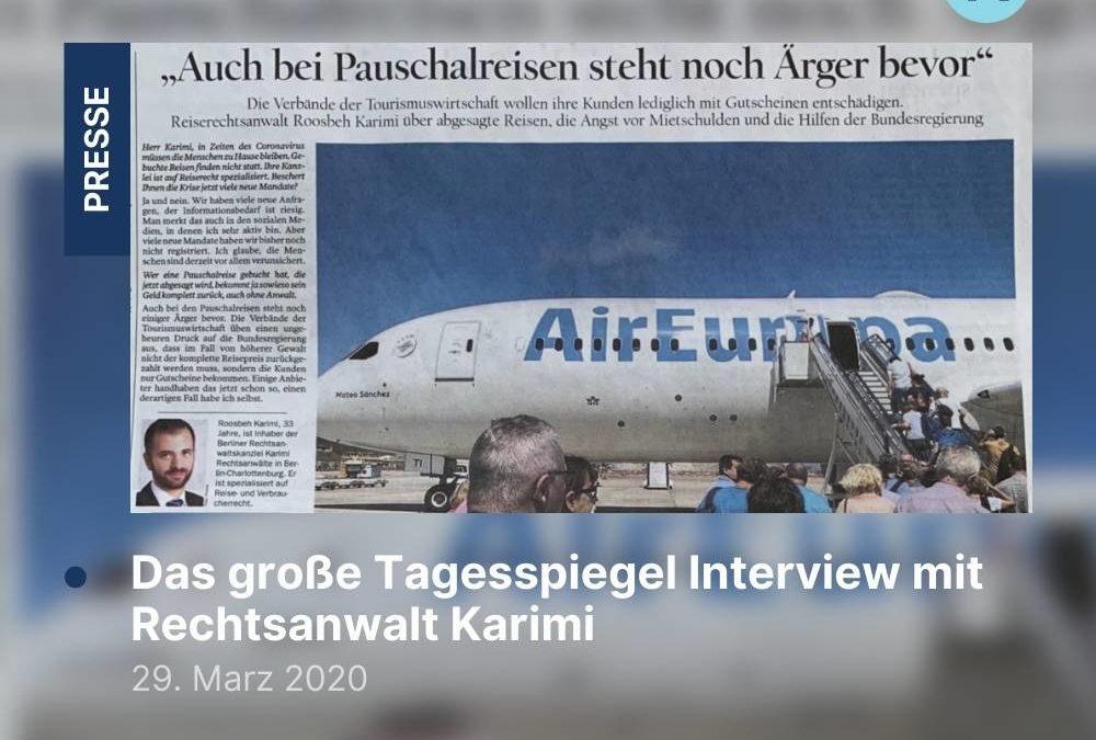 Das große Tagesspiegel Interview mit Rechtsanwalt Karimi